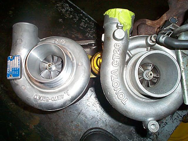 Garrett Motor Spinning Turbo Compressor Wheel 300zx