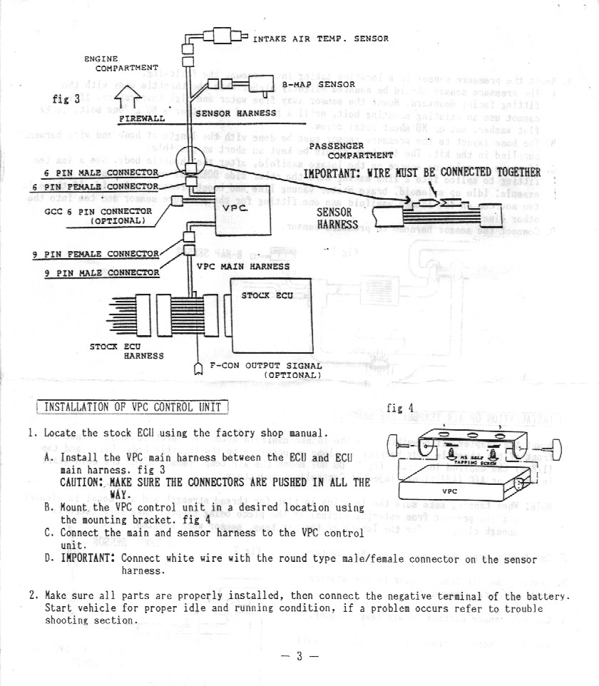 Simplified Safc2 Vpc Wiring Diagram Pic Archive Map Sensor Wire 4